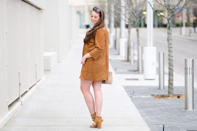 clothes to wear with suede