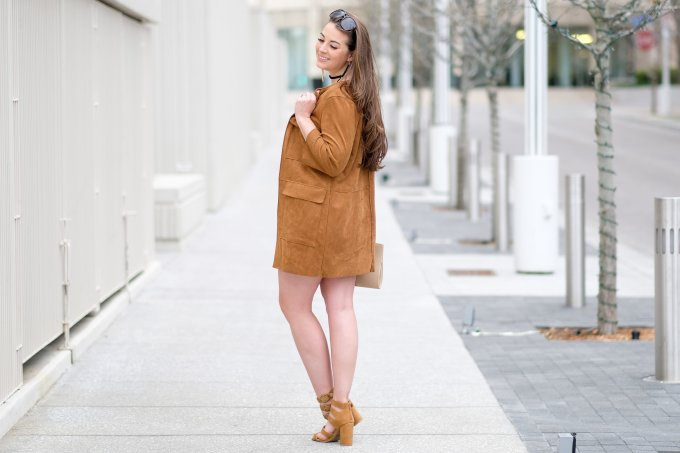 cute suede outfit