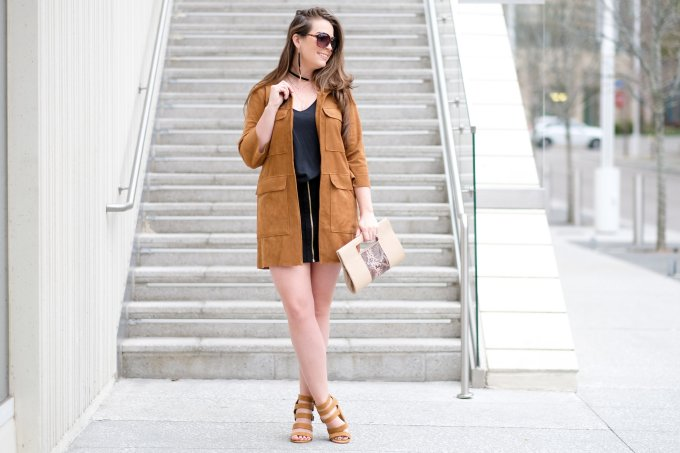 what to wear with suede